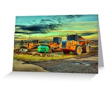 Plant equipment Greeting Card