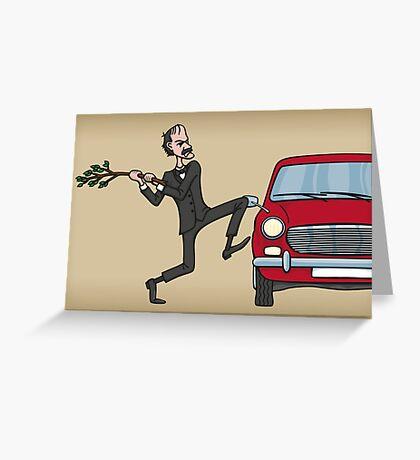 Basil's Fury Greeting Card