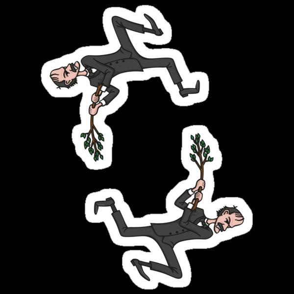 Basil's Fury Stickers by DoodleDojo