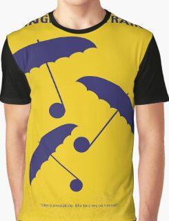 No254 My SINGIN IN THE RAIN minimal movie poster Graphic T-Shirt