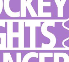 NHL Hockey Fights Cancer Sticker