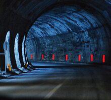Alpine tunnel, French/Italian border by Guy Carpenter