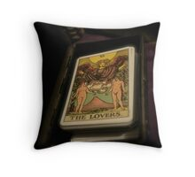 The Lovers Fortune Throw Pillow