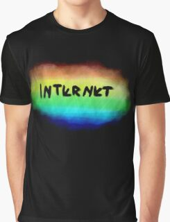 INTERNET//Fewjar Font Graphic T-Shirt