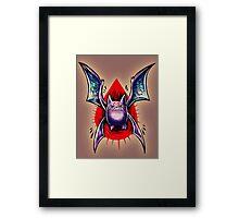 Crobat  Framed Print