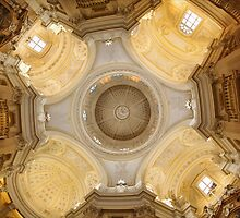 The Church inside Venaria Reale, Italy by Guy Carpenter