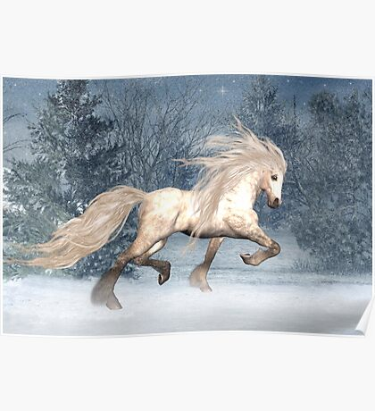 Winter Storm .. the stallions tale Poster