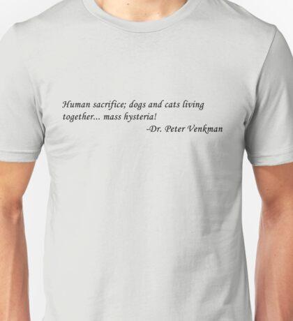 Peter Venkman Unisex T-Shirt