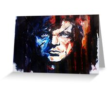 Tyrion Lannister portrait, Game of Thrones Greeting Card