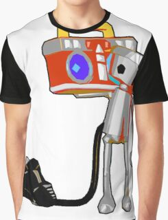 Chibi-Roboto Graphic T-Shirt