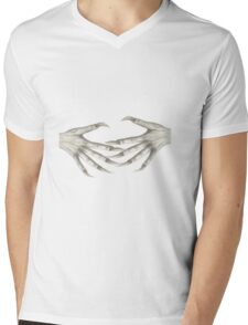 Monster Hands Mens V-Neck T-Shirt