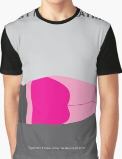 No287 My Lost in Translation minimal movie poster Graphic T-Shirt