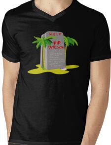 Castaway Mens V-Neck T-Shirt