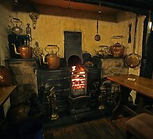 A warm welcome in the local pub. by fotopro