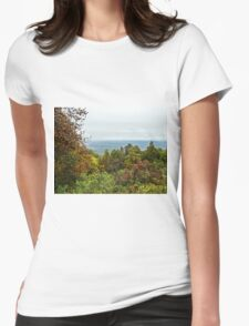 Blue ridge parkway Womens Fitted T-Shirt