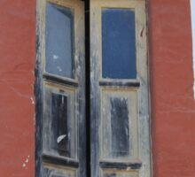 Old Window in a Wall Sticker