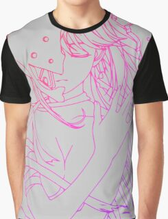 elfen lied lucy lineart coloring anime manga shirt Graphic T-Shirt