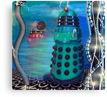 Journey's End - Dalek Wall Art Canvas Print