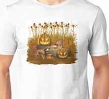 October Puppy .. a halloween tale Unisex T-Shirt