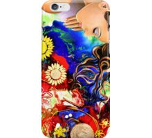 Asleep in the Garden iPhone Case/Skin