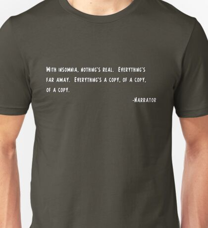 Narrator Unisex T-Shirt