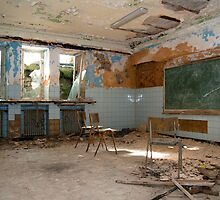 Abandoned school class by Maxim Mayorov