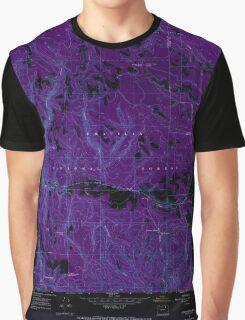 USGS Topo Map Oregon Lehman Springs 280501 1967 24000 Inverted Graphic T-Shirt
