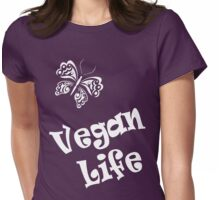 Vegan Life Womens Fitted T-Shirt