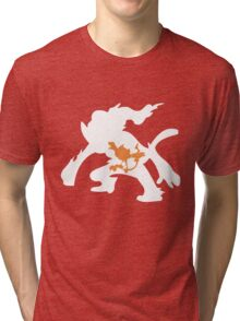 Chimchar Inception Tri-blend T-Shirt