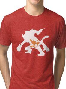Chimchar Inception Tri-blend T-Shirt