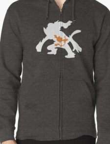 Chimchar Inception Zipped Hoodie