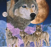 Blue Moon - Iphone by Graeme  Stevenson