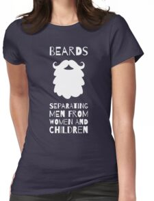 Beards Womens Fitted T-Shirt