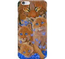 Bobcat Kittens iPhone Case/Skin