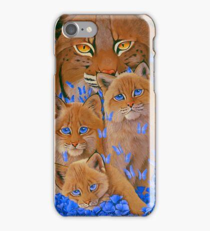 Bobcat Kittens iPhone Case/Skin