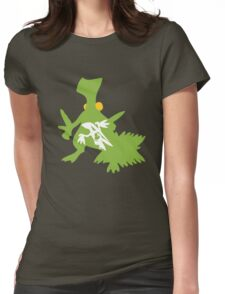 Treecko Inception Womens Fitted T-Shirt