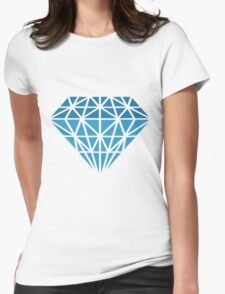 Fractured Diamond Womens Fitted T-Shirt