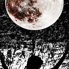 Dreaming of Seeing The Moon on Fire by Rozalia Toth