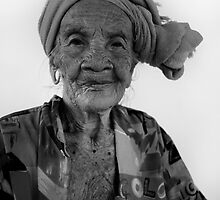 Portrait of an Elderly Worker by Yani Clarke