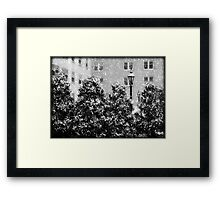 Milwaukee Winter © Framed Print