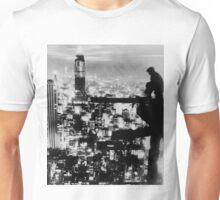 New Yorker Sitting On A Ledge Unisex T-Shirt