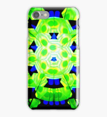 Green Twister iPhone Case/Skin