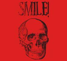 Smile! Smiling skull One Piece - Short Sleeve