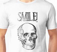 Smile! Smiling skull Unisex T-Shirt