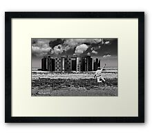 Unhenged Framed Print