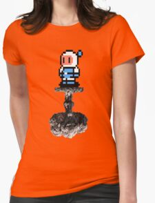 Bomber Boom Womens Fitted T-Shirt