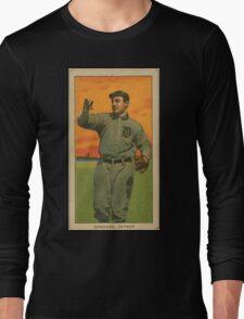 Benjamin K Edwards Collection Wild Bill Donovan Detroit Tigers baseball card portrait 001 Long Sleeve T-Shirt