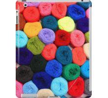 Colorful Balls of Yarn iPad Case/Skin