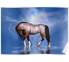 Heavenly Horse Poster