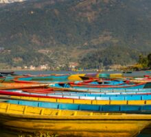 Pokhara Boats Sticker